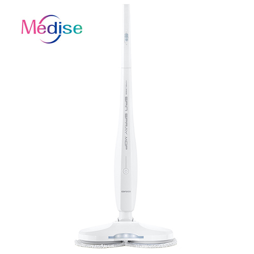 Wireless Dual Spin Electric Floor Cleaning Mop electric water spray from china