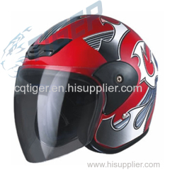 Sports Motorcycle open face Helmet ABS/PP Hot Sale Fashionable Design