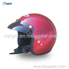 Customized patterns motorcycle open face helmet OEM welcome DOT ECE quality verifications