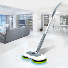 Microfiber Cordless Spray Floor Cleaner Mop Electric Spin Mop