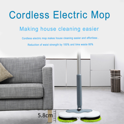Wireless Spray Floor Cleaner Mop Electric Spin Mop