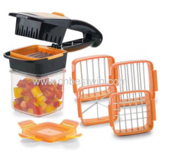 Nicer Dicer Quick Kitchen Slicer Set Quick dicer Cutter Crusher Mills Chopper for Vegetable/Fruit