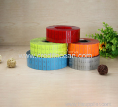 shoelace multi-color acetate film