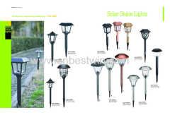 Solar garden lawn light with different deisgn