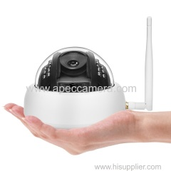 1080P Star light indoor wifi IP cameras two way audio P2P full color day night wireless IP dome cameras 2MP Wifi camera