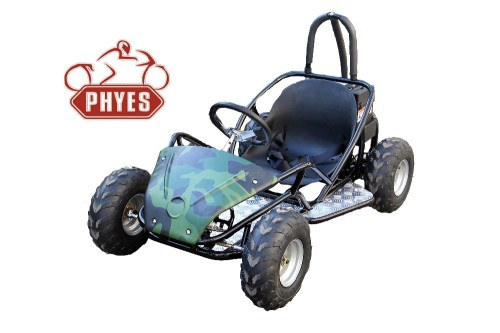 phyes 4 wheel 48V 1000w Adults Electric mini Go Kart With CE