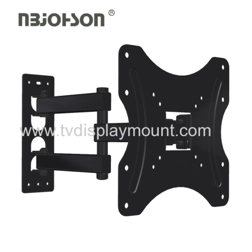 Adjustable Vertical Retractable Full Motion 90 degree rotate bracket for 17-37 Inches TVs