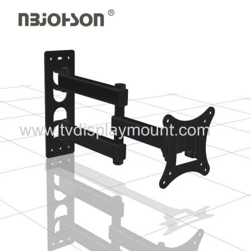 Economy Full Motion 90 degrees swivel tv wall mount