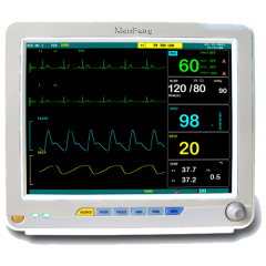 "Portable 15"" color TFT patient monitor"