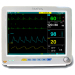"Portable 15"" high resolution color TFT patient monitor"