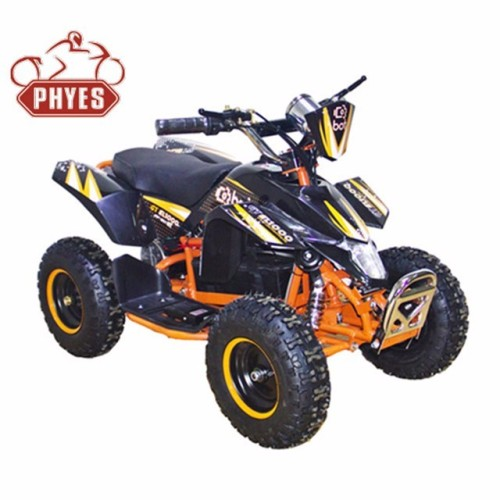 phyes electric quad bike atv with 36v 500w electric atv with lithium battery