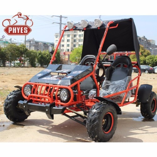 phyes Brand 125cc Go Cart Gas Powered Off Road for Adults &Kids