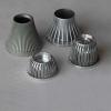 Aluminium Casting of LED streetlight housings Light Screw Socket Die Casting