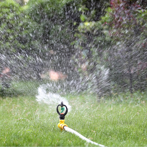 Plastic male butterfly sprinkler for irrigation