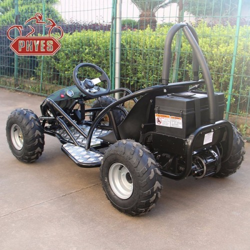 kids 800w electric go kart buggy quad