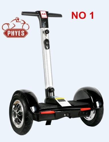 2 wheel electric standing scooter chariot for big man