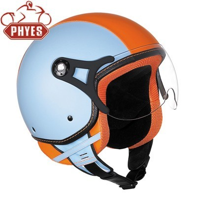 phyes 2018 New Practical Good Looking Open Face Motorcycle Helmet with mask visor