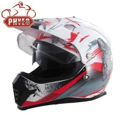 PHYES Motocross Off Road Dirt Bike ATV Helmet Mens Womens Adult