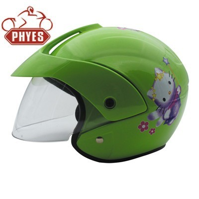phyes ABS Material and ISO9001 Certification Children half helmet