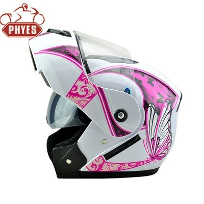 phyes New DOT flip up cascos Modular motorcycle Helmet with bluetooth intercom from helmet factory