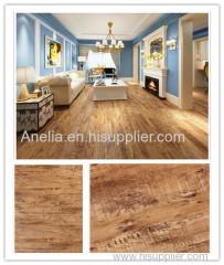 vinyl flooring wood effect texture self adhesive renewable material environment friendly