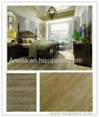 PVC floor tiles with modular flexibility unique design realism wooden effect durability antimicrobial antibacterial