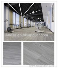 vinyl floor coverings click system anti-pollution solution for gymnasium bedroom kitchen livingroom PVC flooring