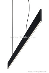 Slim elegant pendant linear lighting 8mm thickness