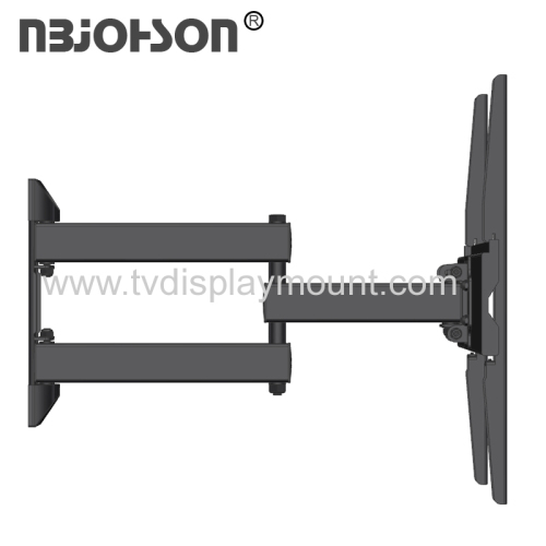 23 To 56'' Inch Full Motion Metal Black Swivel TV Mount