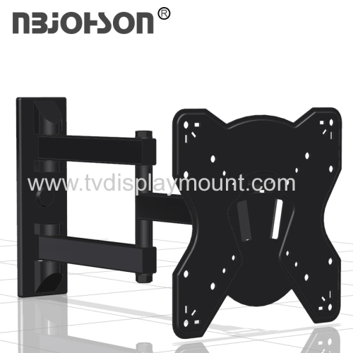 NBJOHSON Full Motion TV Wall Mount Bracket Fits 17-42 Inch LCD LED TV and Computer Monitors