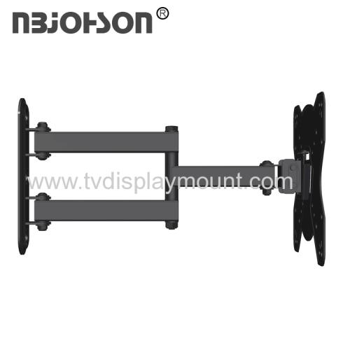 NBJOHSON New Design Full Motion TV Wall Mount Bracket Fits 17-42 Inch LCD LED TV and Computer Monitors (LEDBK224) NBJOH