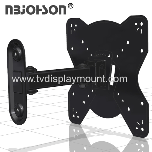 NBJOHSON New Design Full Motion TV Wall Mount Bracket Fits 17-42 Inch LCD LED TV and Computer Monitors