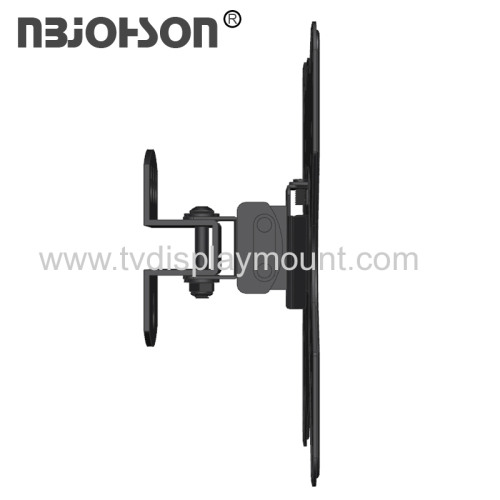 NBJOHSON Slim Design Tilt TV Wall Mount Bracket Fits 17-42 Inch LCD LED TV and Computer Monitors
