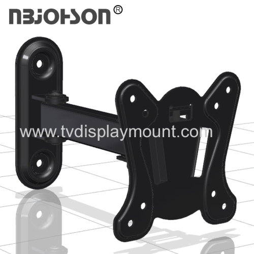 NBJOHSON New Design Full Motion TV Wall Mount Bracket Fits 13-37 Inch LCD LED TV and Computer Monitors