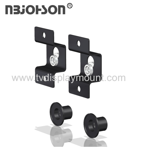 NBJOHSON 37-Inch to 70-Inch Universal Ultra Slim Low Profile Hanging Style LED TV Wall Mount