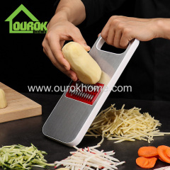 Ourok Stainless steel multi blade vegetable onion potato slicer for home use