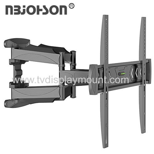 New Item Dual Arms Full Motion TV Wall Mount for 17-inch To 56-inch Screen with Tilt And Swivel Function