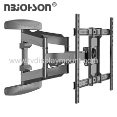 New Item Dual Arms Full Motion Multi Position TV Wall Mount for 40-inch To 70-inch Screen with Tilt And Swivel Functi