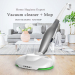 Household vacuum cleaner wet dry cordless vacuum cleaner and electric mop