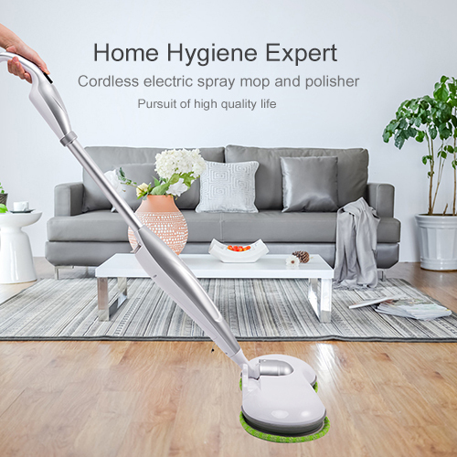 Cordless Electric Spraying  Mop Dual Spin Mop