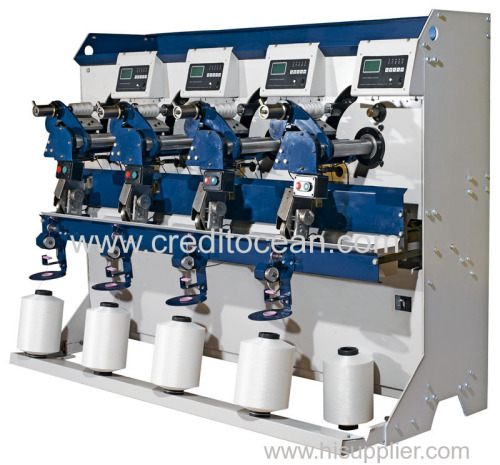 Automatic thread winding machinery