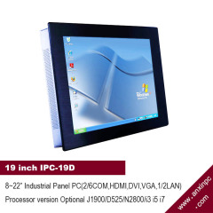 19 inch Industrial Touch Panel all in one PC