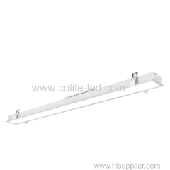Aluminum linear lighting Recessed type 600mm 1200mm 1800mm 2400mm length optional