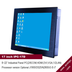 17 inch industrial all in one touch screen all in one PC