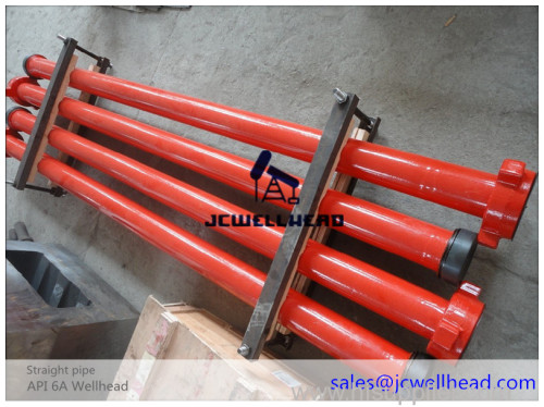 API 6A Integral High Pressure Straight Pipe for Well Flow Control