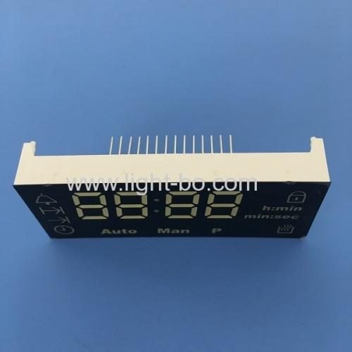 Custom Design ultra white 4 Digit 7 Segment LED Display for digital oven timer control system