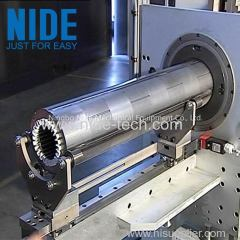 horizontal motor stator insulation paper insertion equipment machine