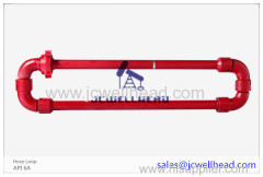 Wellhead Hose Loop Long Radius Flexible Manifolds