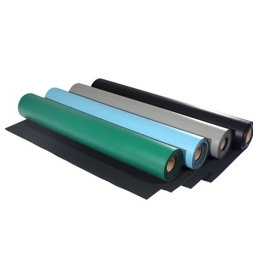 Cheap price various size new design 2 Layers 2mm Antistatic ESD Anti Static Dissipative Sheet Anti-static Rubber Mat