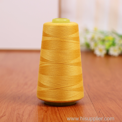 best selling colorful 100% polyester sewing thread 40/2